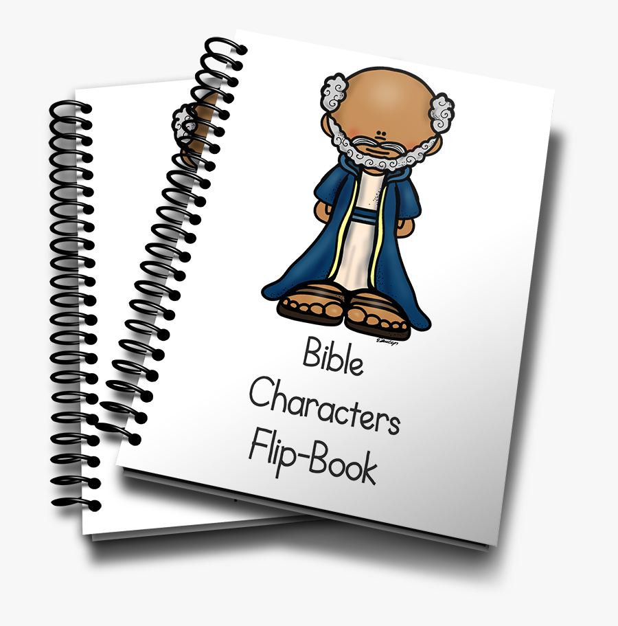 This Fun Mini Flip Book Is Perfect For Any Sunday School - Jonah And The Whale Mini Book, Transparent Clipart