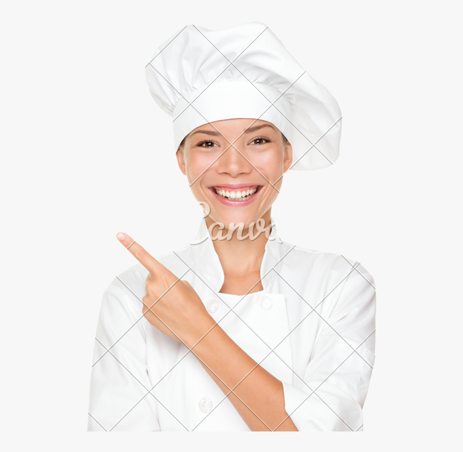 Transparent Female Chef Clipart - Stock Photography, Transparent Clipart