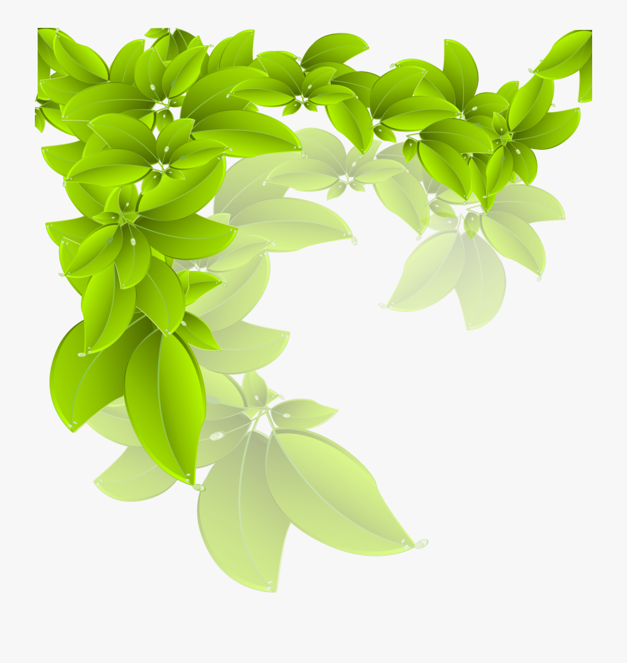 Tree Leaves Vector Free Download Png, Transparent Clipart