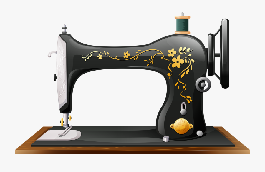 Vintage Sewing Machines, Paper Crafts, Arts And Crafts - Tailoring Machines Logo Png, Transparent Clipart