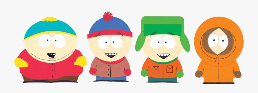 South Park Stan Kyle Cartman Kenny, Transparent Clipart