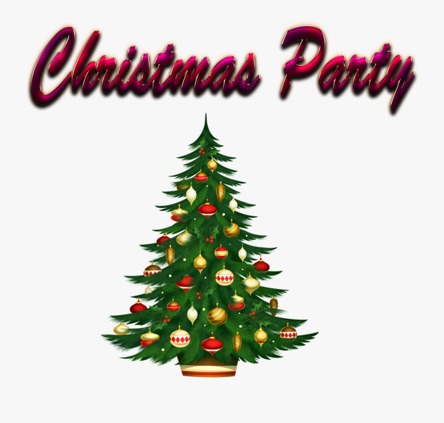 Transparent Party Background Png - Christmas Tree Images Download, Transparent Clipart