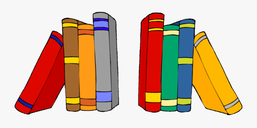 Request For Morning Help - Books On Shelf Clipart, Transparent Clipart