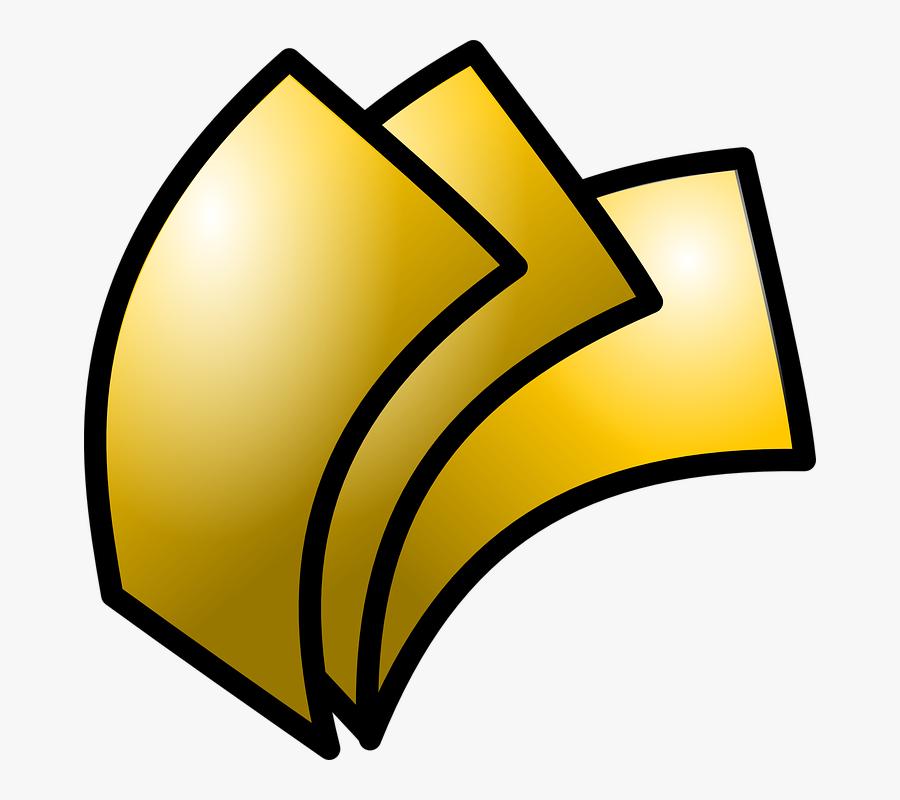 Money, Gold, Currency, Bills, Cash, Wealth, Investment - Productos Y Servicios Financieros, Transparent Clipart