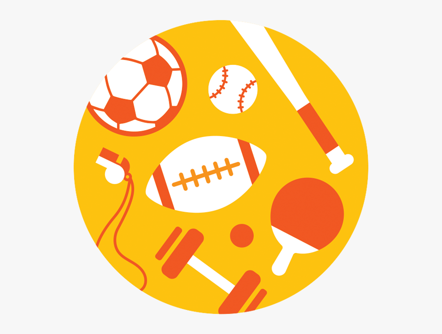Sports Circle Icon Png, Transparent Clipart