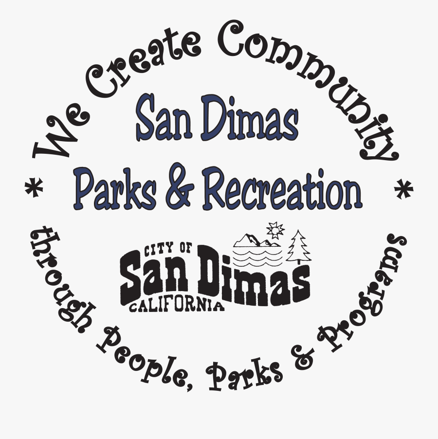 City Of San Dimas Parks And Recreation, Transparent Clipart