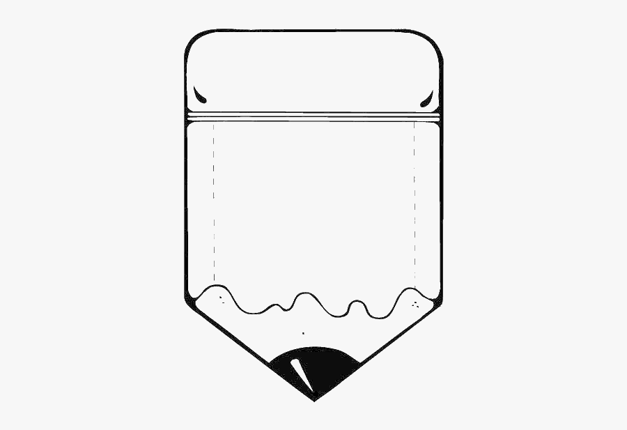 Pencil Clipart Black And White - Fat Pencil Coloring Pages , Free  Transparent Clipart - ClipartKey