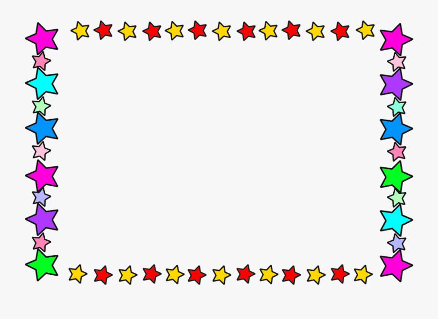 Star Border Clipart Clker, Transparent Clipart