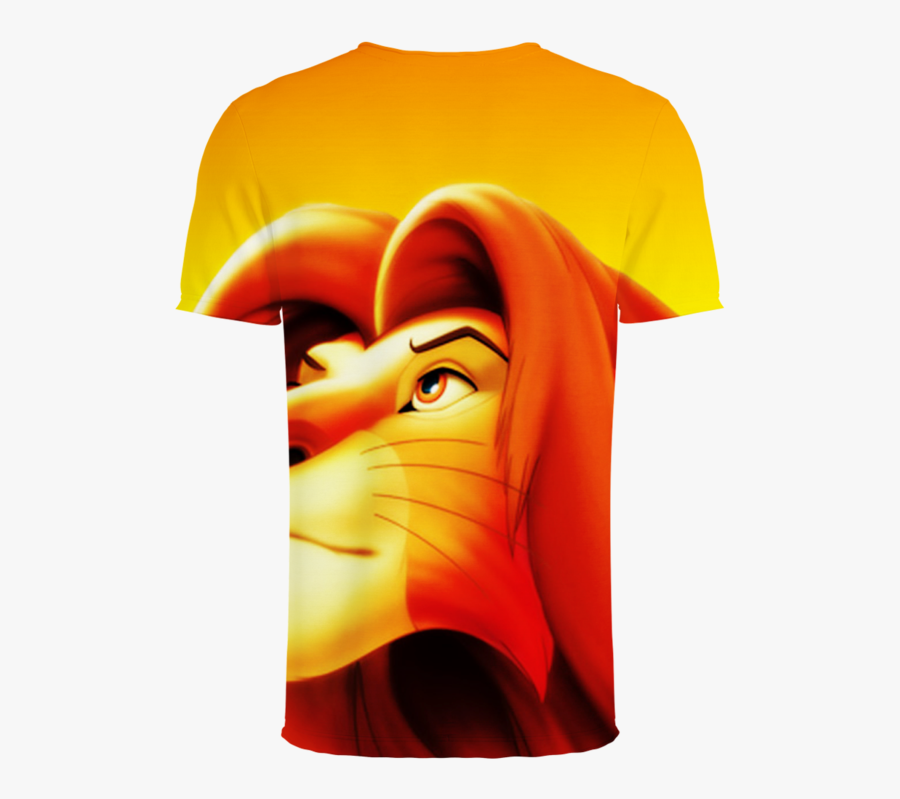 Anime Movie Lion King 3d T-shirt - Lion King Transparent Background, Transparent Clipart