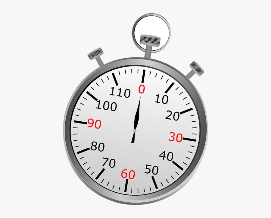 Transparent Stop Watch Png - Stop Clock Png, Transparent Clipart