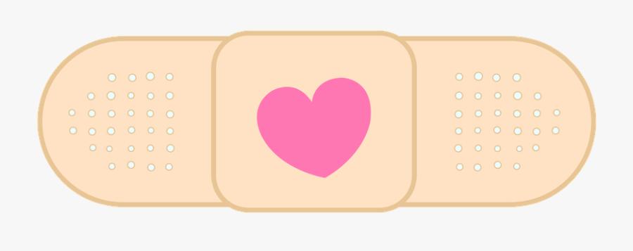 Doc Mcstuffins Bandaid Clipart - Heart, Transparent Clipart