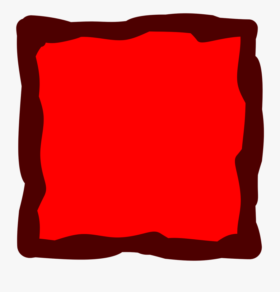 Red Frame Album Free Picture - Red Square Transparent, Transparent Clipart
