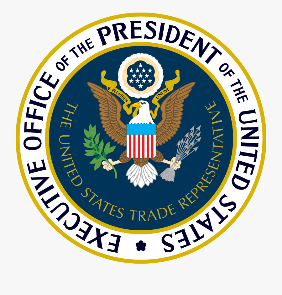 American Flag President Clipart - Office Of The United States Trade Representative, Transparent Clipart
