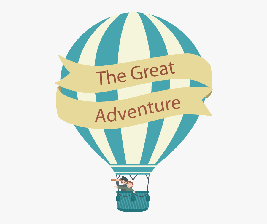 Hot Air Balloon Clipart Globo - Hot Air Balloon Adventure Clipart, Transparent Clipart