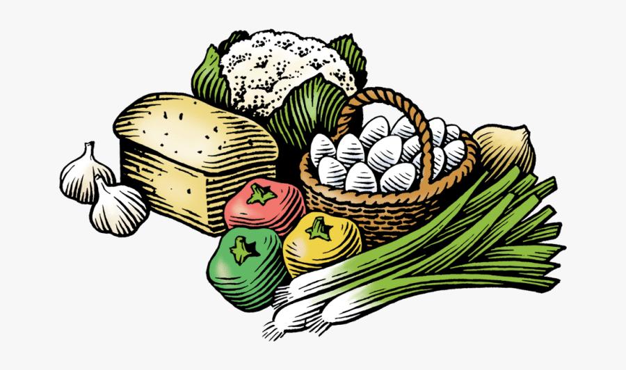 Transparent Vegetable Clipart - Transparent Farmers Market Png, Transparent Clipart