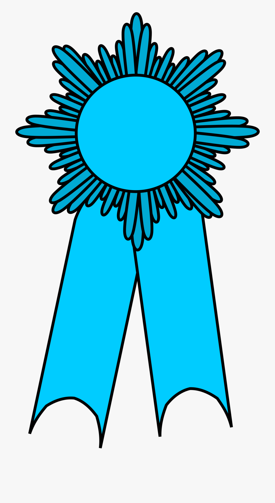 Transparent Prizes Clipart - Light Purple Ribbon Award, Transparent Clipart