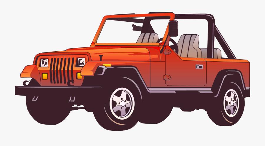 Jeep Wrangler Car Force Clip Art - Jeep Wrangler Clipart, Transparent Clipart