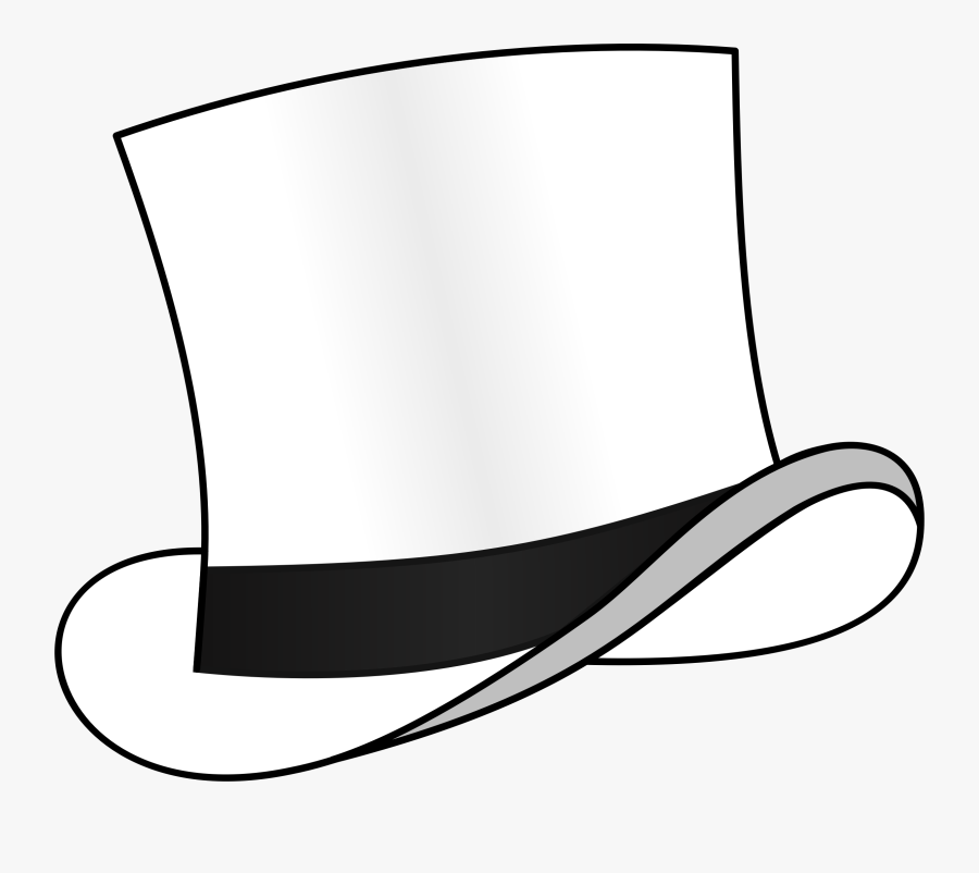 Winter Drawing Top Hat For Free Download - Yellow Hat Thinking Hats, Transparent Clipart