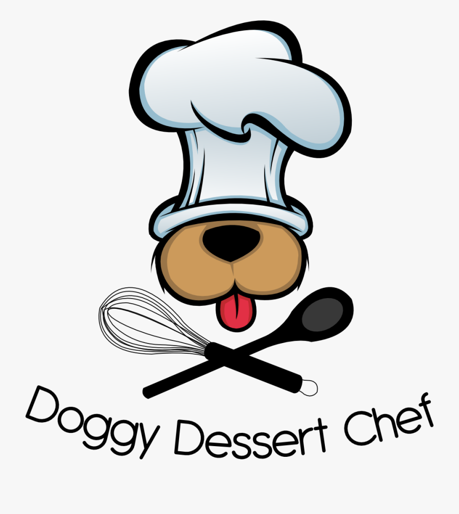 Transparent Bacon Clipart - Cartoon Dog In Chef Hat, Transparent Clipart