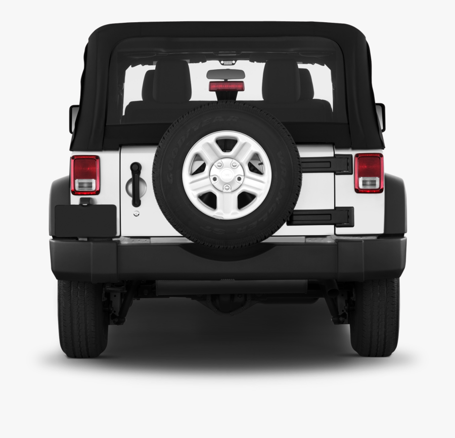 Transparent Front Of Jeep Clipart - Rosie The Riveter Jeep Tire Cover, Transparent Clipart