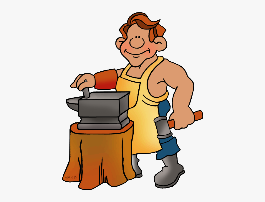 Farmer Clipart Producer - Blacksmith Clipart, Transparent Clipart
