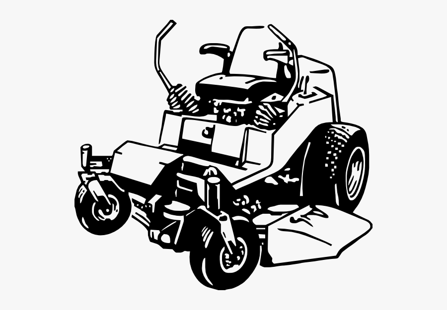 Lawn Mower Zero Turn Mower Clipart Clipart Kid - Zero Turn Lawn Mower Logo, Transparent Clipart