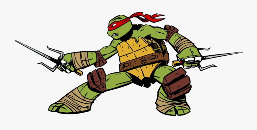 Ninja Turtles Raphael Cartoon, Transparent Clipart