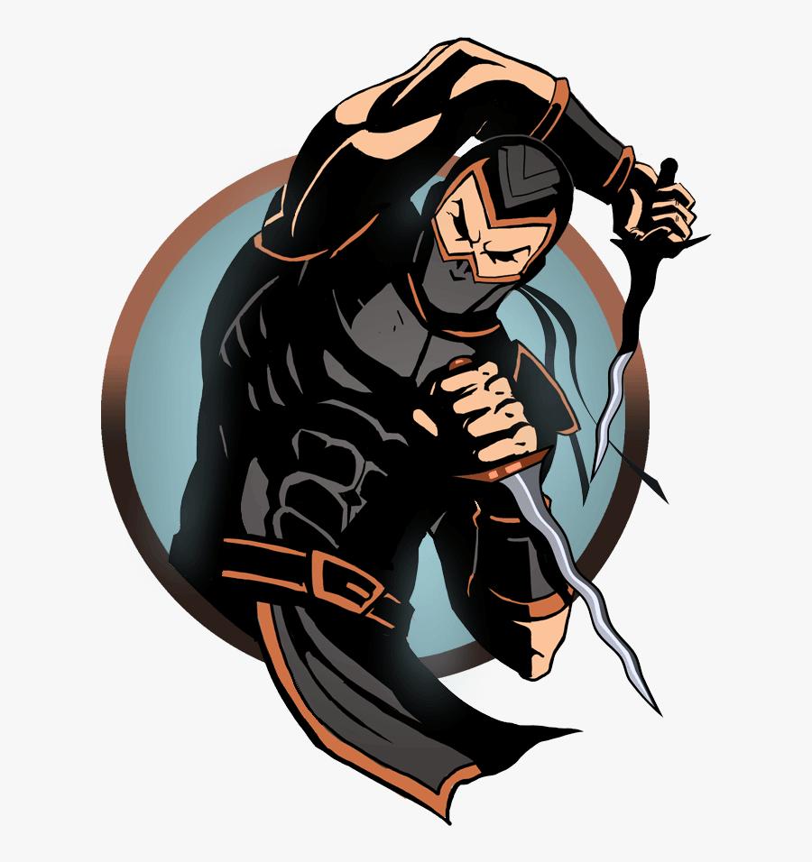 Ninja Man Keris - Shadow Fight 2 Character Ninja, Transparent Clipart