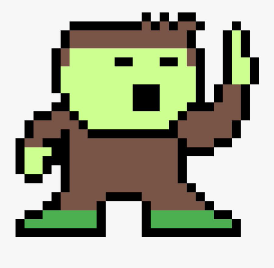 Pixel Art Tortue Ninja Clipart Png Download Pixel Art