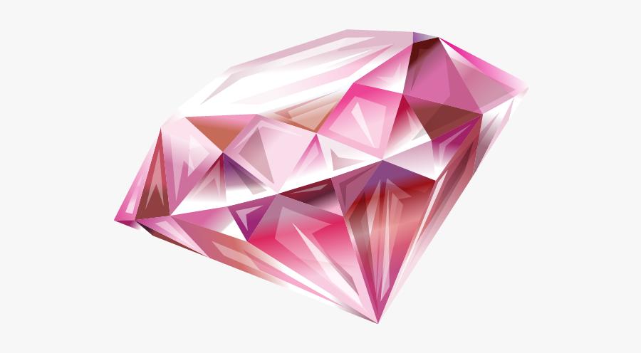 Body Diamond Art Sticker Sparkling Abziehtattoo Diamonds - Transparent Background Pink Diamond Png, Transparent Clipart