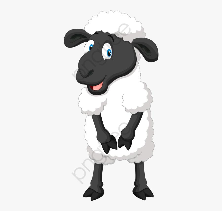 Happy Little Lamb - Sheep Vector Png, Transparent Clipart