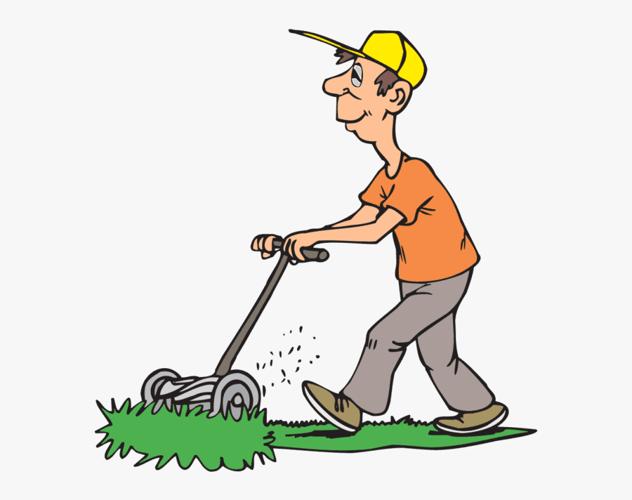 Coupon Clipart Lawn Mowing - Mowing The Lawn, Transparent Clipart
