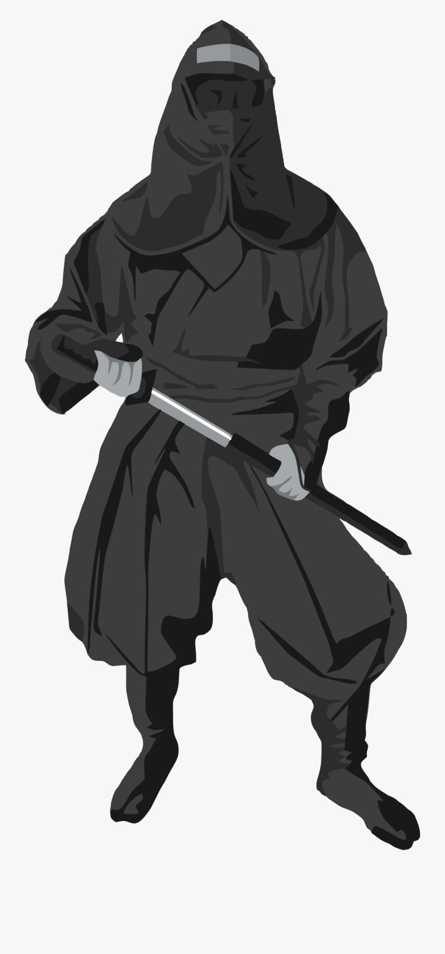 Free To Use & Public Domain Ninja Clip Art - Ninja Art Transparent, Transparent Clipart