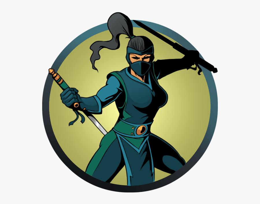 Ninja Clipart Ninja Shadow - Shadow Fight 2 Ниндзя, Transparent Clipart