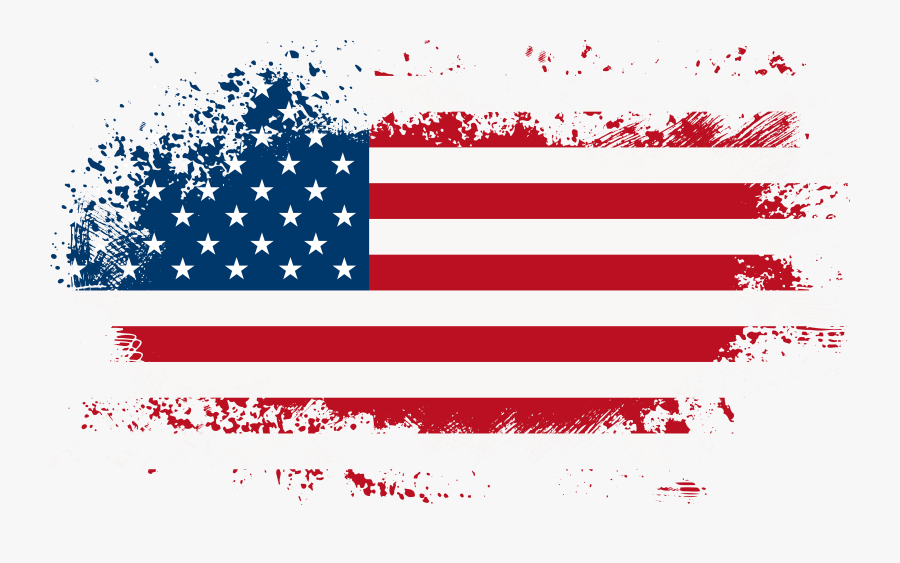 4th Of July Png Clipart - American Flag Png Transparent Background, Transparent Clipart
