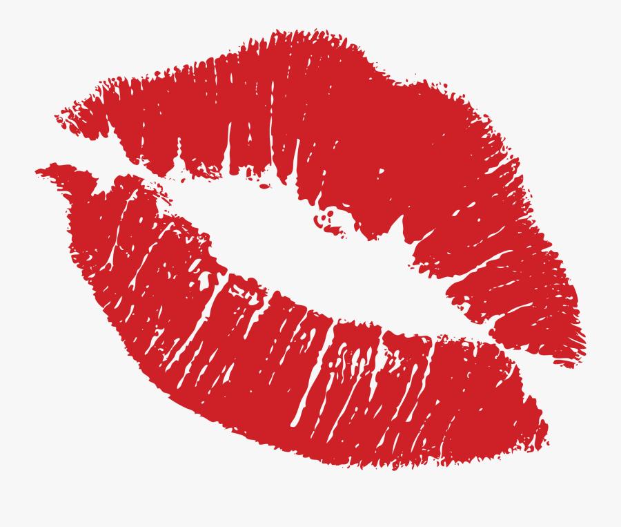 Transparent Lipstick Kiss Png - Lip Stain Png, Transparent Clipart