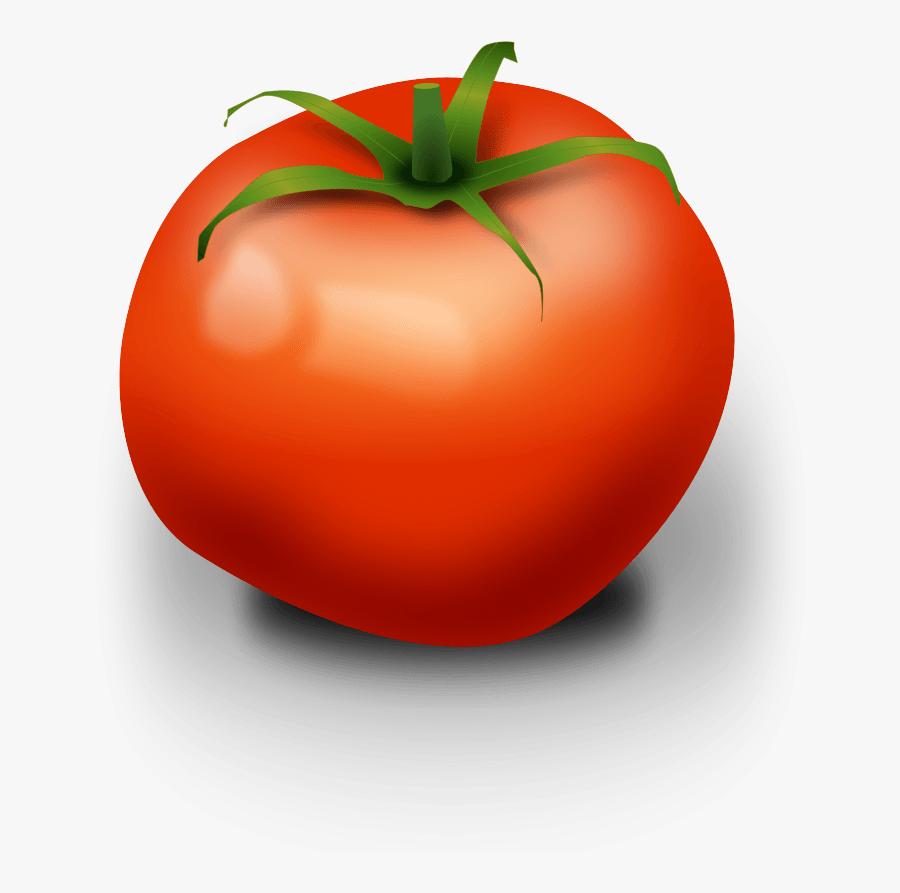 Ripe Tomato Clip Art, Transparent Clipart