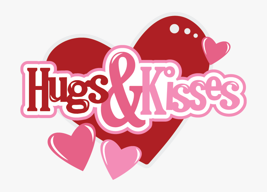 Many Kisses And Hugs, Transparent Clipart