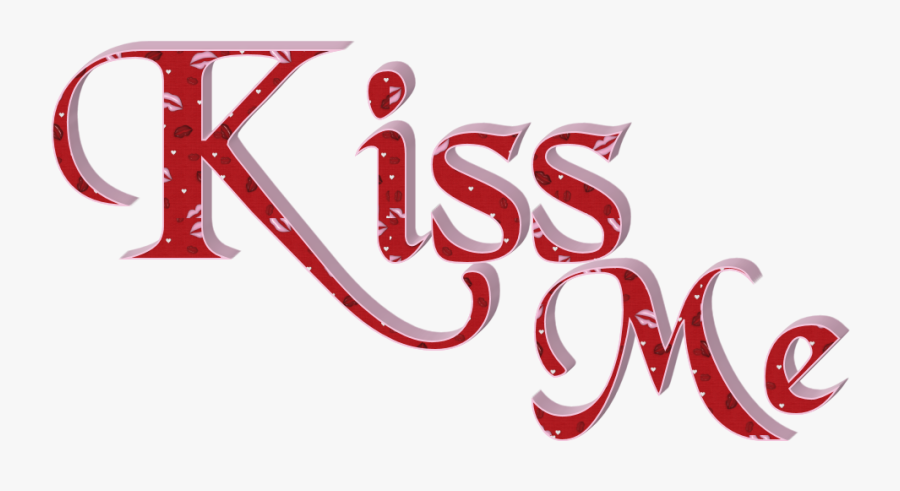 Hd Clipart Kiss - Love Kiss Text Png, Transparent Clipart
