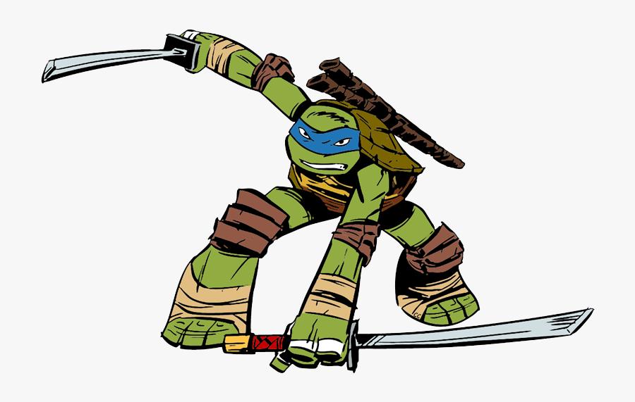 Ninja Turtles Clipart Cartoon Leonardo Ninja Turtle Free
