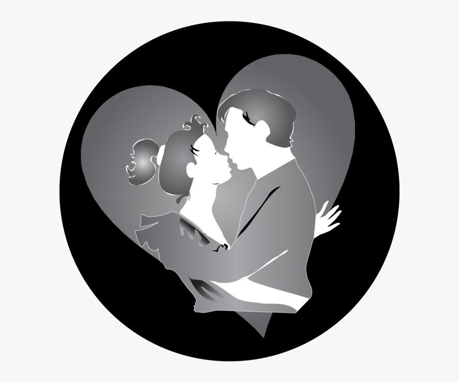 Transparent Kiss Clipart - Romance, Transparent Clipart