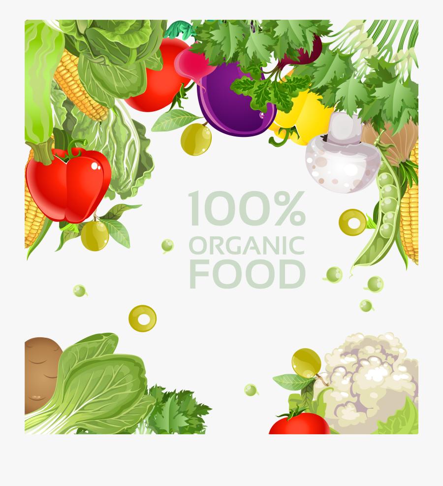 Organic Food Vegetarianism Diet Clip Art, Transparent Clipart