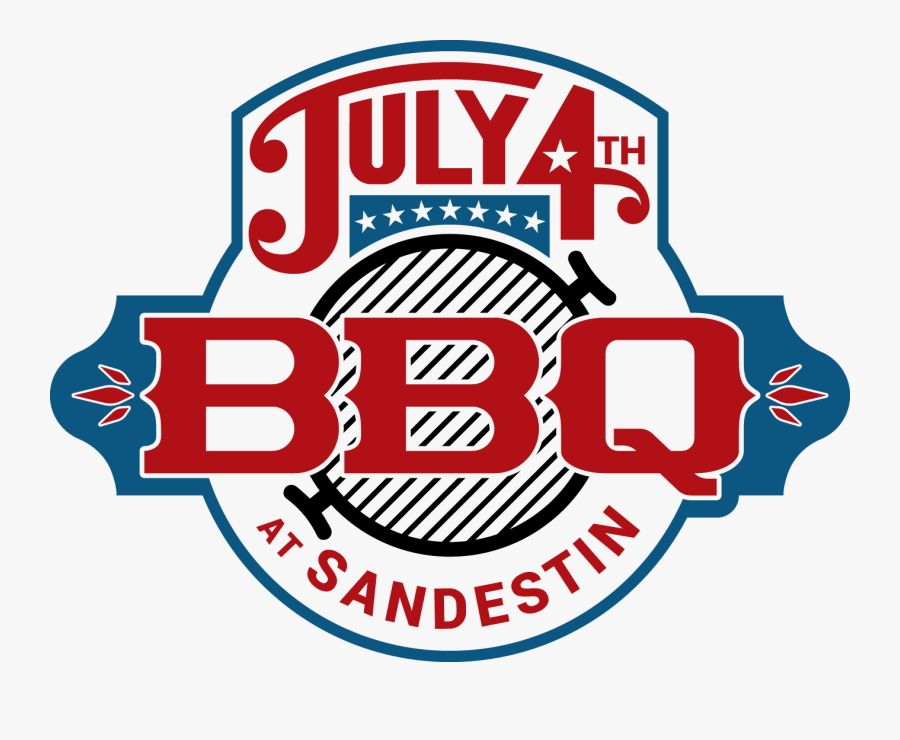 2018 Sandestin 4th Of July Bb - July 4th Bbq Clipart, Transparent Clipart