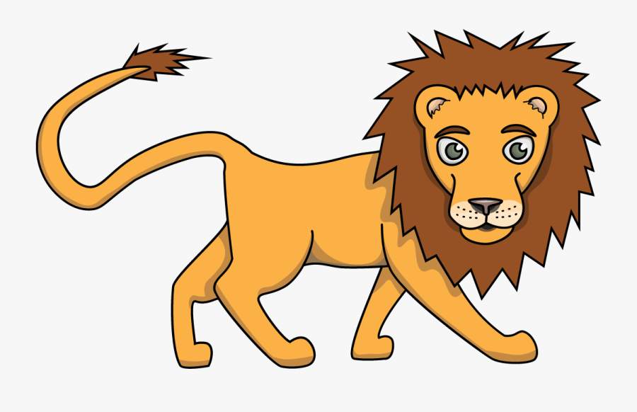 Easy Lion Drawing How To Draw Felix Jungle Buddies - Lion Drawing Easy, Transparent Clipart
