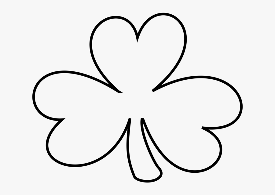 Top 50 Shamrock Clipart Images Free Download【2018】 - St Patrick's Day Clip Art Black And White, Transparent Clipart