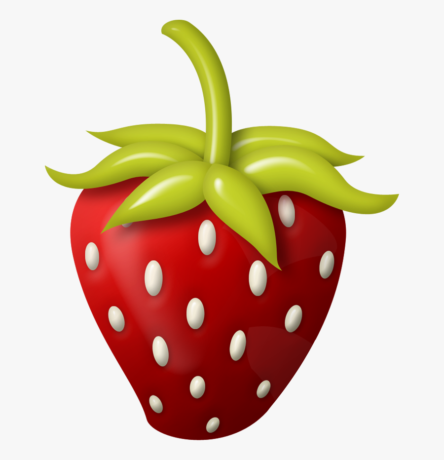Dg Strawberry Png Clip Art Decoupage And - Individual Fruits And Vegetables, Transparent Clipart