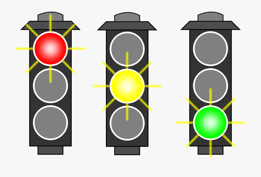 Traffic Lights Clip Art Is Clipart Panda - Project Status Traffic Lights, Transparent Clipart