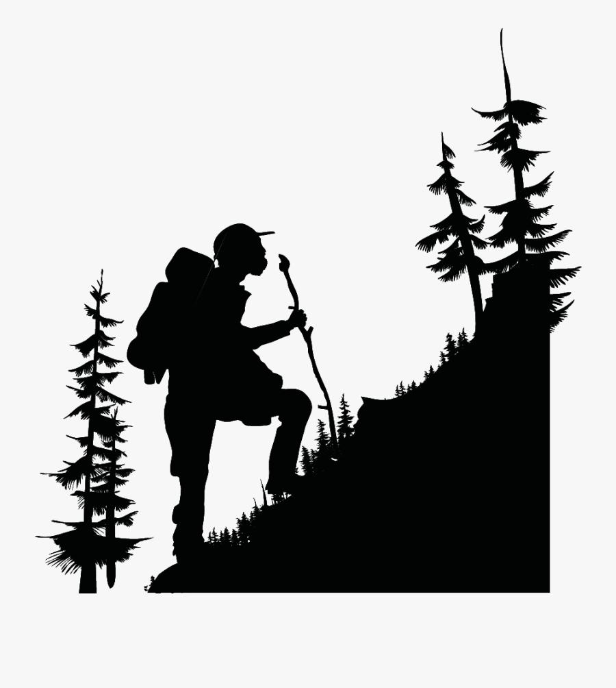 Transparent Mountain Hiking Clipart - Trekking Png, Transparent Clipart