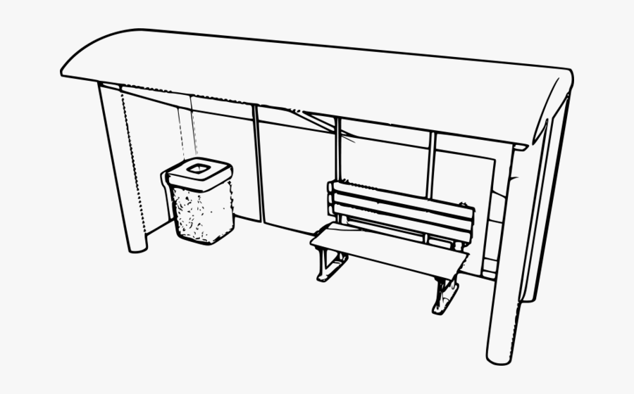 Drawing At Getdrawings Com - Draw A Bus Station, Transparent Clipart