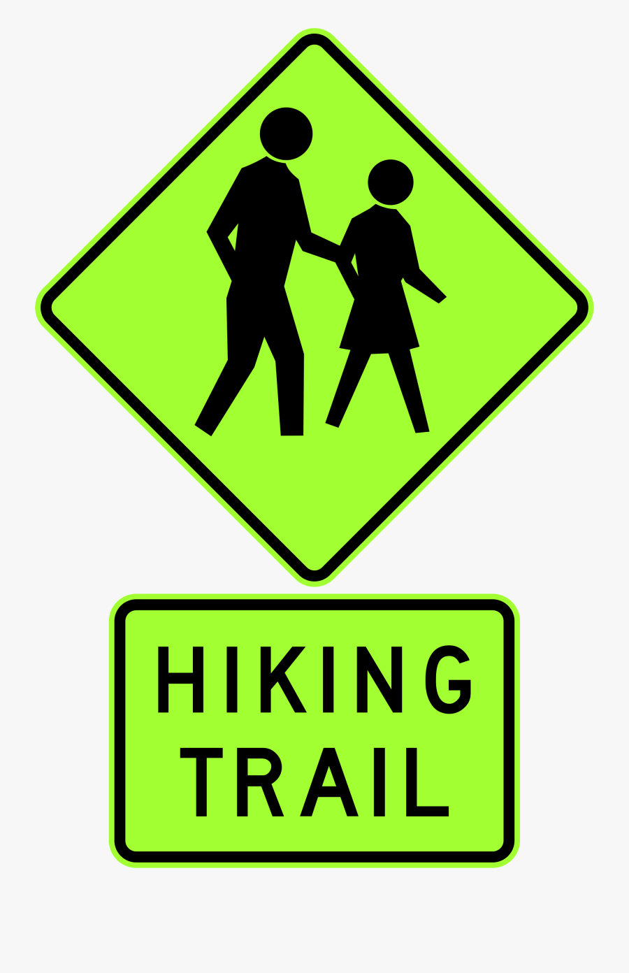 Does The Sign With Two People Walking Mean Clipart - Does The Sign With Two People Walking Mean, Transparent Clipart